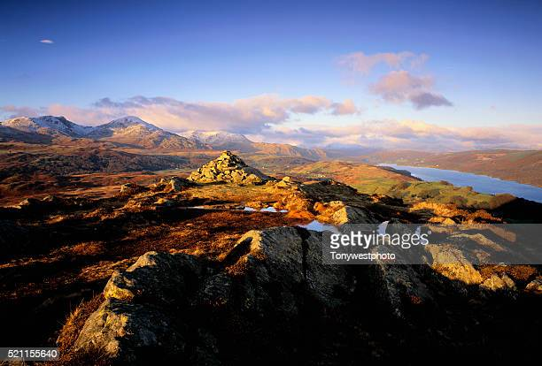 Coniston Water and Fells in the Lake District
