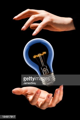 Conjuringup a bright new idea stock photo getty images for New idea images