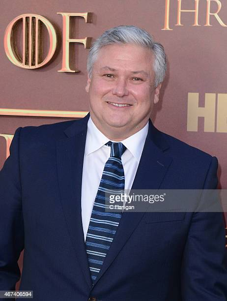 Conleth Hill attends HBO's 'Game of Thrones' Season 5 Premiere and After Party at the San Francisco Opera House on March 23 2015 in San Francisco...