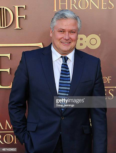 Conleth Hill attends HBO's 'Game Of Thrones' Season 5 San Francisco Premiere at San Francisco Opera House on March 23 2015 in San Francisco California