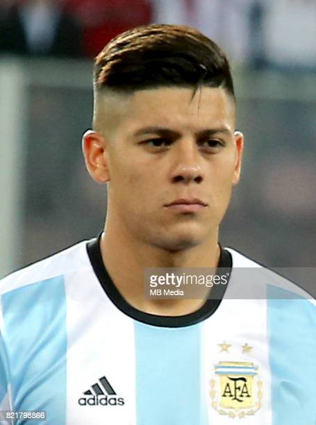 Conmebol World Cup Fifa Russia 2018 Qualifier / 'nArgentina National Team Preview Set 'nMarcos Faustino Alberto Rojo