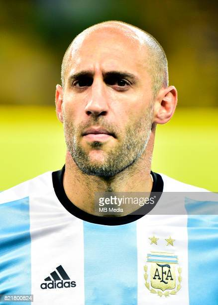Conmebol World Cup Fifa Russia 2018 Qualifier / 'nArgentina National Team Preview Set 'nPablo Javier Zabaleta