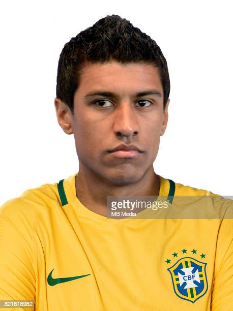 Conmebol World Cup Fifa Russia 2018 Qualifier / 'nBrazil National Team Preview Set 'nJose Paulo Bezerra Maciel Junior Paulinho