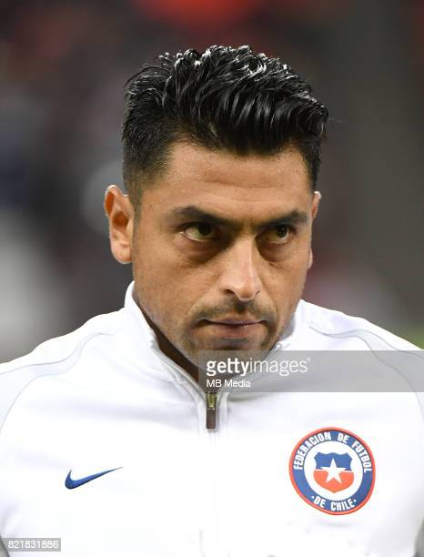 Conmebol World Cup Fifa Russia 2018 Qualifier / 'nChile National Team Preview Set 'nGonzalo Jara