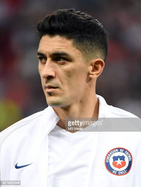 Conmebol World Cup Fifa Russia 2018 Qualifier / 'nChile National Team Preview Set 'nPedro Pablo Hernandez