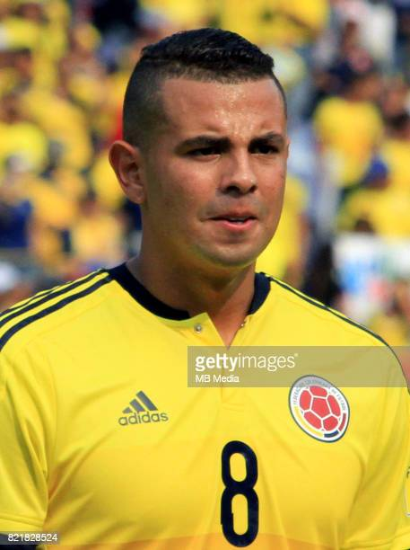 Conmebol World Cup Fifa Russia 2018 Qualifier / 'nColombia National Team Preview Set 'nEdwin Cardona