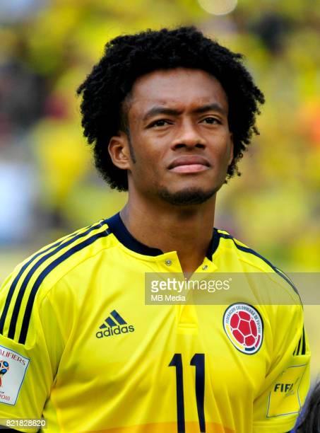 Conmebol World Cup Fifa Russia 2018 Qualifier / 'nColombia National Team Preview Set 'nJuan Cuadrado