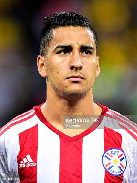 Conmebol World Cup Fifa Russia 2018 Qualifier / 'nParaguay National Team Preview Set 'nCecilio Dominguez