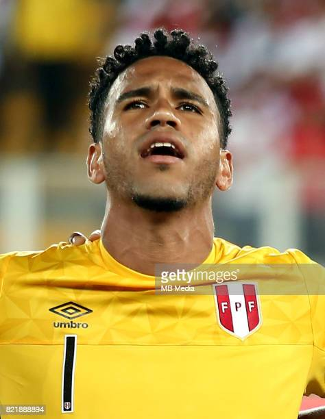Conmebol World Cup Fifa Russia 2018 Qualifier / 'nPeru National Team Preview Set 'nPedro David Gallese Quiroz