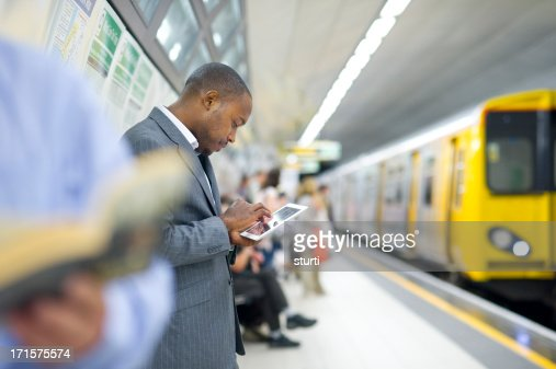 connected in the subway