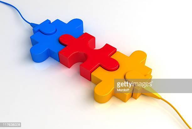パズル接続