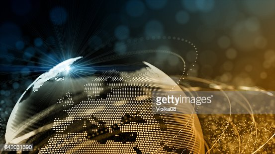 Connection network technology design : Stock Photo
