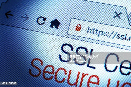 SSL Connection : Stock Photo