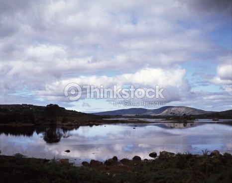 Connemara Landscape : Stock Photo