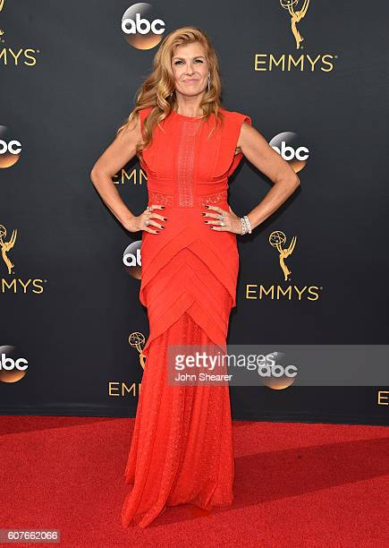 Connie Britton arrives at the 68th Annual Primetime Emmy Awards at Microsoft Theater on September 18 2016 in Los Angeles California