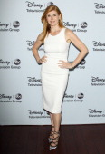 Connie Britton arrives at the ABC/Disney 2014 Winter TCA party held at The Langham Huntington Hotel and Spa on January 17 2014 in Pasadena California