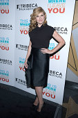 Connie Britton arrives at the Tribeca Film Institute Annual Gala Benefit Screening Of 'This Is Where I Leave You' at AMC Loews Lincoln Square on...