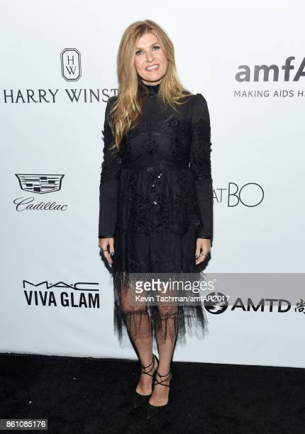 Connie Britton at amfAR Los Angeles 2017 at Ron Burkle's Green Acres Estate on October 13 2017 in Beverly Hills Californi