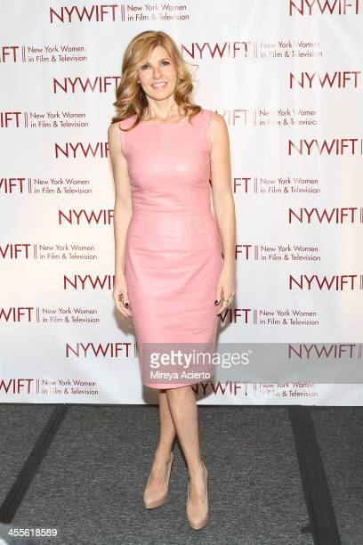 Connie Britton attends New York Women In Film And Television's 33rd Annual Muse Awards at New York Hilton on December 12 2013 in New York City