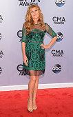 Connie Britton attends the 48th annual CMA Awards at the Bridgestone Arena on November 5 2014 in Nashville Tennessee