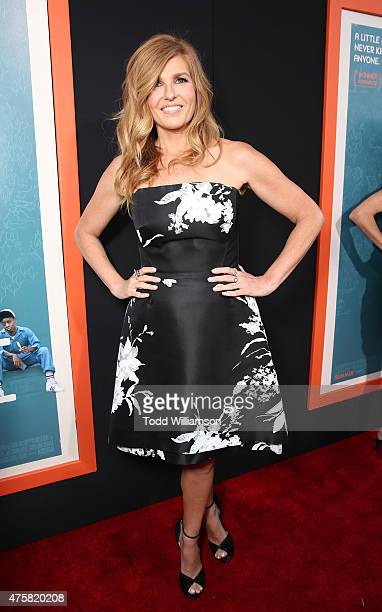 Connie Britton attends the Los Angeles Premiere Of Fox Searchlight's 'Me Earl And The Dying Girl' at Harmony Gold Theatre on June 3 2015 in Los...