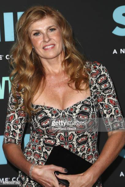 Connie Britton attends the Premiere Of Showtime's SMILF held at Harmony Gold Theater on October 9 2017 in Los Angeles California