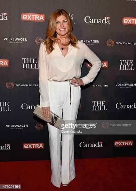 Connie Britton attends the The Hill Extra And The Embassy Of Canada Celebrate The White House Correspondents' Dinner Weekend at Embassy of Canada on...