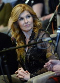Connie Britton from the Cast Of ABC's 'Nashville' Answer Questions From Fans During A SiriusXM 'Town Hall' Special at Oceanways Studio on January 14...