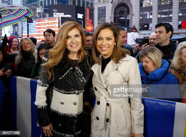 AMERICA Connie Britton is a guest on 'Good Morning America' Tuesday February 7 airing on the ABC Television Network CONNIE