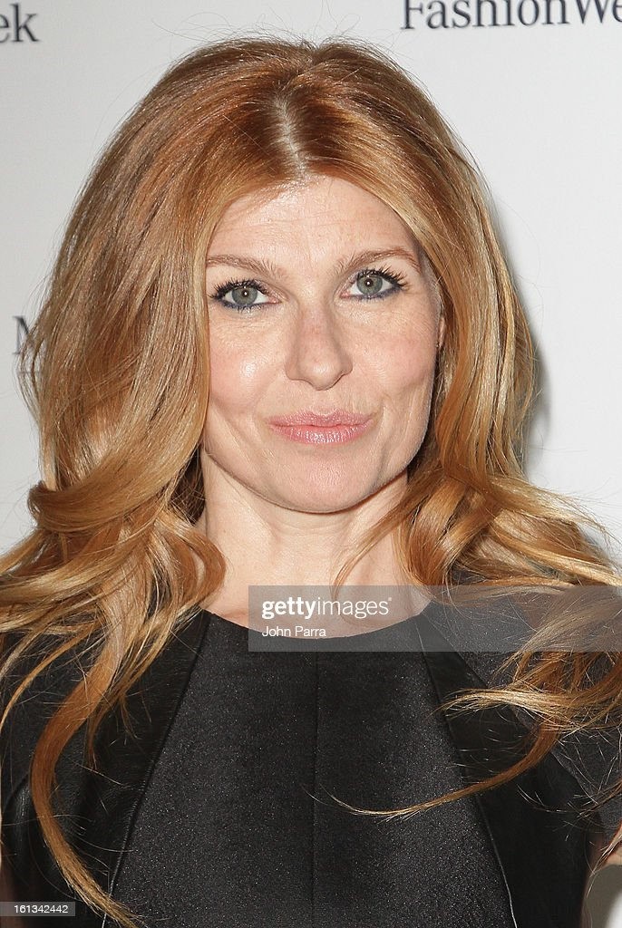 Connie Britton is seen during Fall 2013 Mercedes-Benz Fashion Week at Lincoln Center for the Performing Arts on February 9, 2013 in New York City.