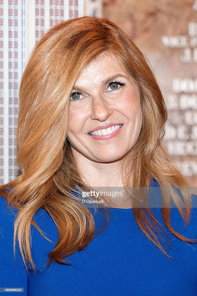 Connie Britton Lights The Empire State Building Ahead Of 2015 Global Citizen Festival