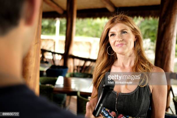 Connie Britton recipient of the Navigator Award is interviewed during day one of the 2017 Maui Film Festival at Wailea on June 21 2017 in Wailea...