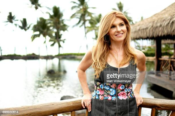 Connie Britton recipient of the Navigator Award poses for a portrait during day one of the 2017 Maui Film Festival at Wailea on June 21 2017 in...