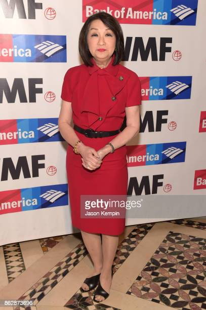 Connie Chung attends The International Women's Media Foundation's 28th Annual Courage In Journalism Awards Ceremony Arrivals at Cipriani 42nd Street...