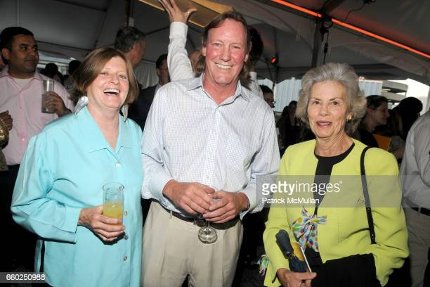 Connie Farr Rex Farr and Virginia Thors attend SOLAR 1's Revelry By The River Honors MATTHEW MODINE KICK KENNEDY HSBC at Stuyvesant Cove on June 2...