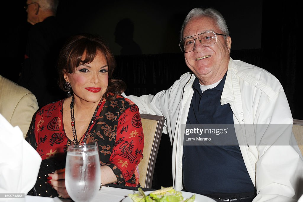 Connie Francis and Pat Cooper attend Footlighters Club Roast of Sal Richards at Hard Rock Live! in the Seminole Hard Rock Hotel & Casino on January 25, 2013 in Hollywood, Florida.