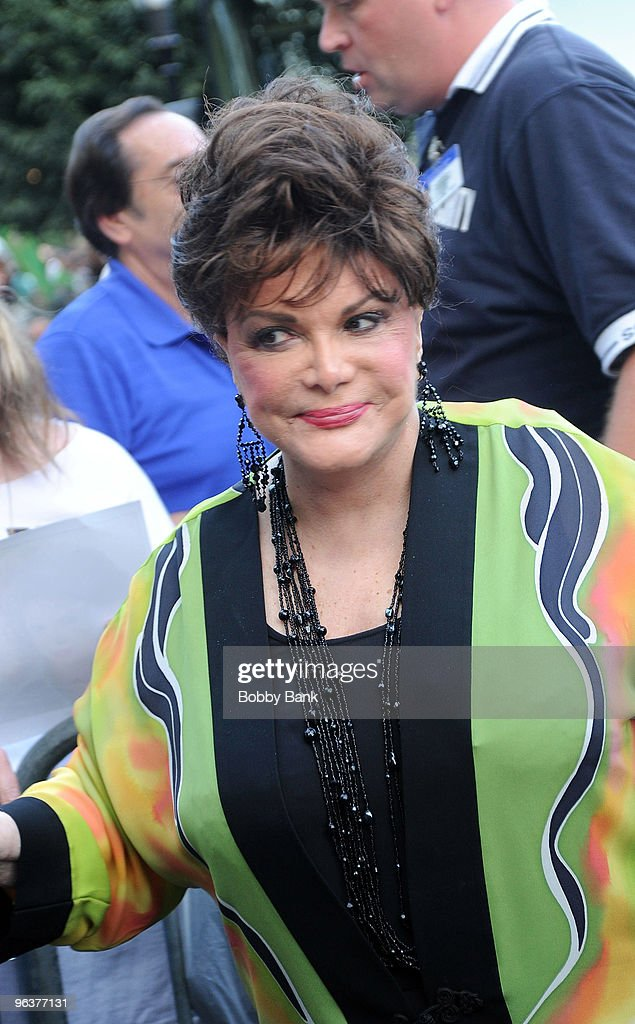 Connie Francis attends during the 31st Annual Seaside Summer Concert Series at Asser Levy Park, Coney Island on July 30, 2009 in New York City.