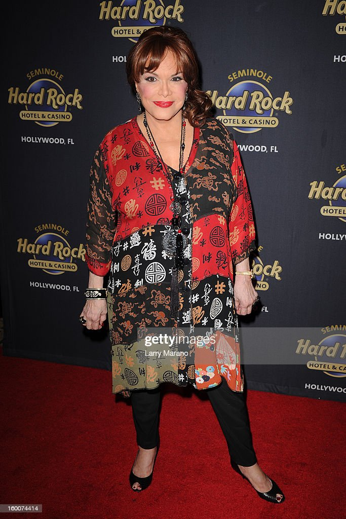 Connie Francis attends Footlighters Club Roast of Sal Richards at Hard Rock Live! in the Seminole Hard Rock Hotel & Casino on January 25, 2013 in Hollywood, Florida.
