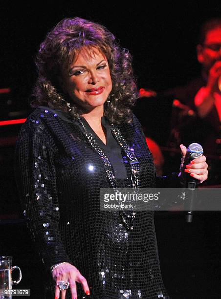 Connie Francis performs at the Bergen Performing Arts Center on May 1 2010 in Englewood New Jersey