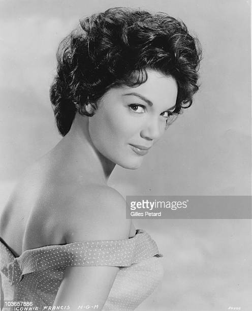 Connie Francis poses for a studio portrait in 1959 in the United States