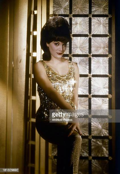 Connie Francis stands in a doorway in a scene from the film 'Where The Boys Are' 1960