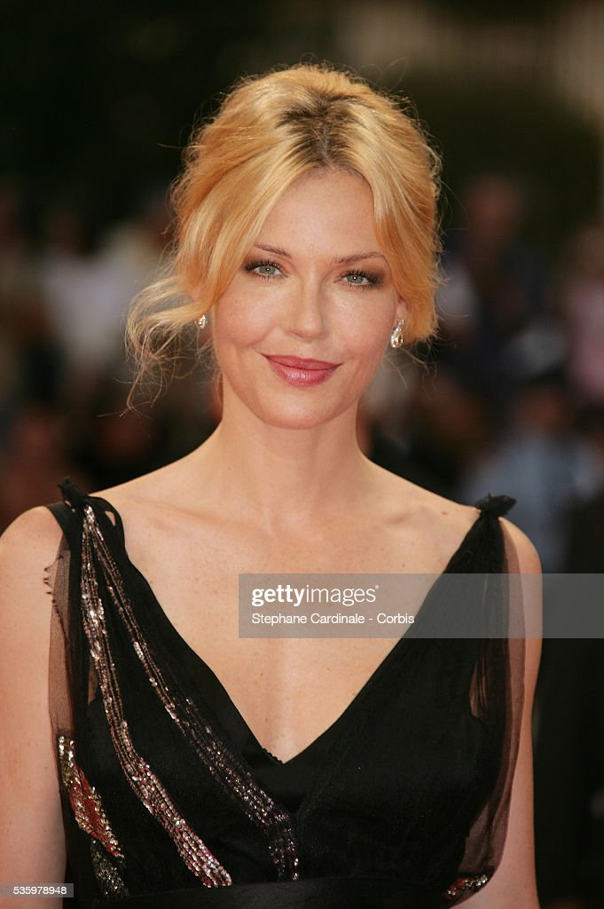 Connie Nielsen arrives at the premiere of 'The Ice Harvest' during the 31st American Deauville Film Festival.