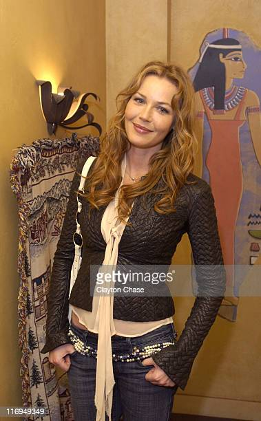 Connie Nielsen during 2005 Sundance Film Festival 'Brothers' Premiere at Egyptian Theatre in Park City Utah United States