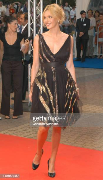 Connie Nielsen during 31st American Film Festival of Deauville Tribute to Robert Towne and 'The Ice Harvest' Premiere at CID in Deauville France