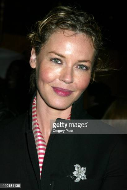 Connie Nielsen during Cirque du Soleil's Latest Production 'Varekai' Grand Opening After Party at Randall's Island Park in New York City New York...