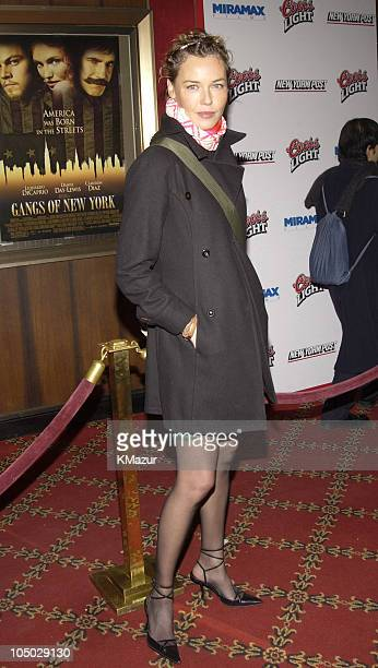 Connie Nielsen during 'Gangs of New York' World Premiere at Ziegfeld Theater in New York City New York United States