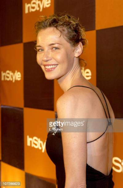 Connie Nielsen during InStyle Magazine Hosts Fourth Annual PostGolden Globes Party to Honor Hollywood's Elite Arrivals at The Beverly Hilton Hotel in...