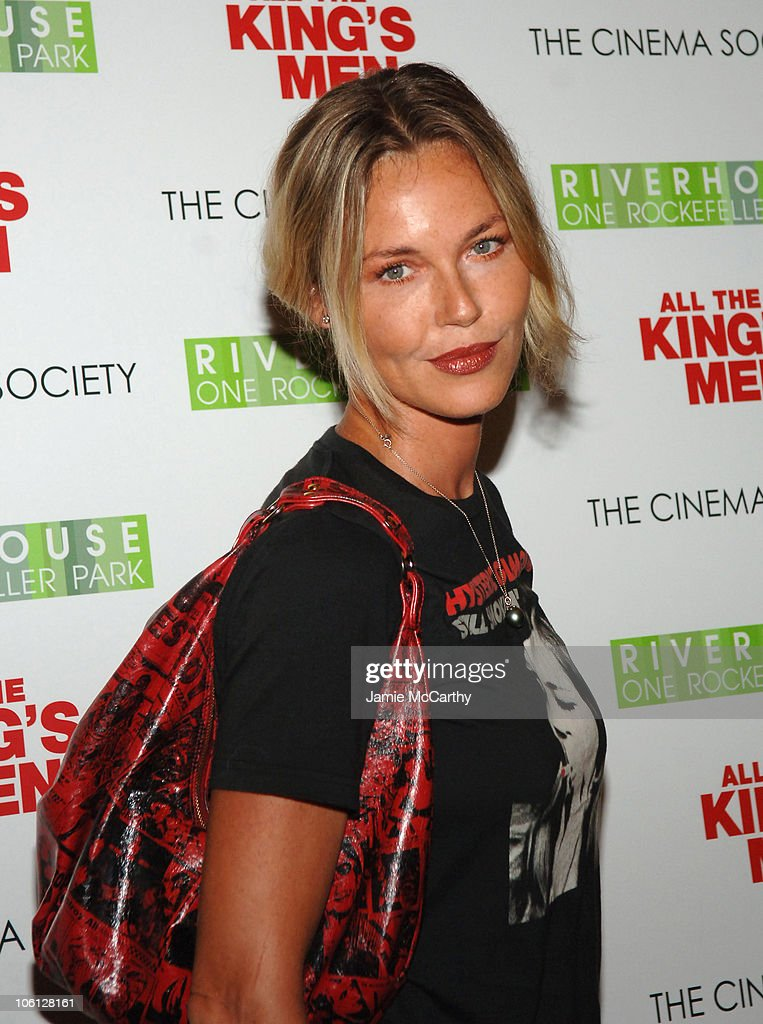 "The Cinema Society Screening of ""All the King's Men"" - Arrivals"