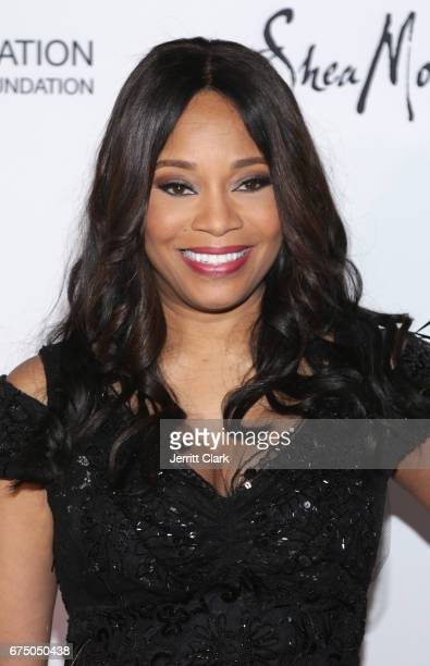 Connie Orlando SVP at BET attends the Wearable Art Gala Arrivals at California African American Museum on April 29 2017 in Los Angeles California