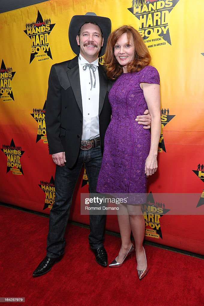 Connie Ray (R) and guest attend 'Hands On A Hard Body' Broadway Opening Night After Party at Roseland Ballroom on March 21, 2013 in New York City.
